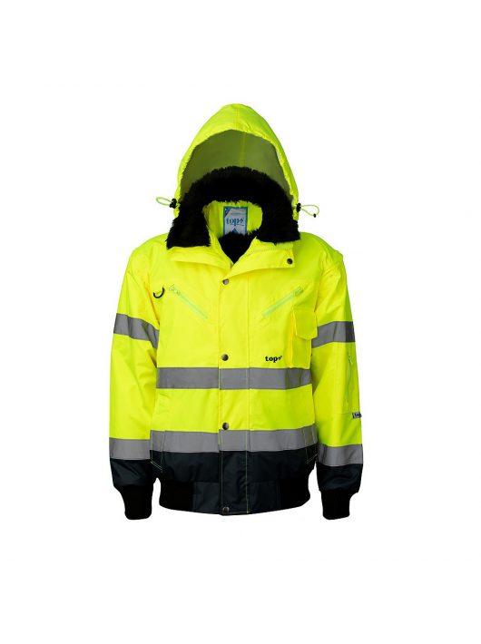 TOP HAWK pilóta dzseki - láthatósági kabát